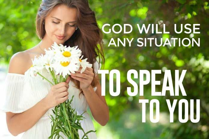 How to know when God is speaking to you
