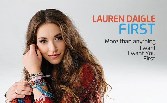Lauren Daigle Trust In You >> Lauren Daigle First song Lyrics, Chords, Video, Acoustic music
