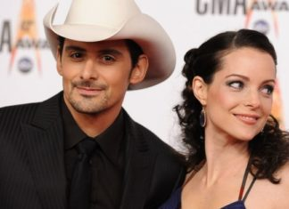 brad paisley and wife kimberley