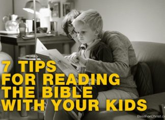 reading the bible with children