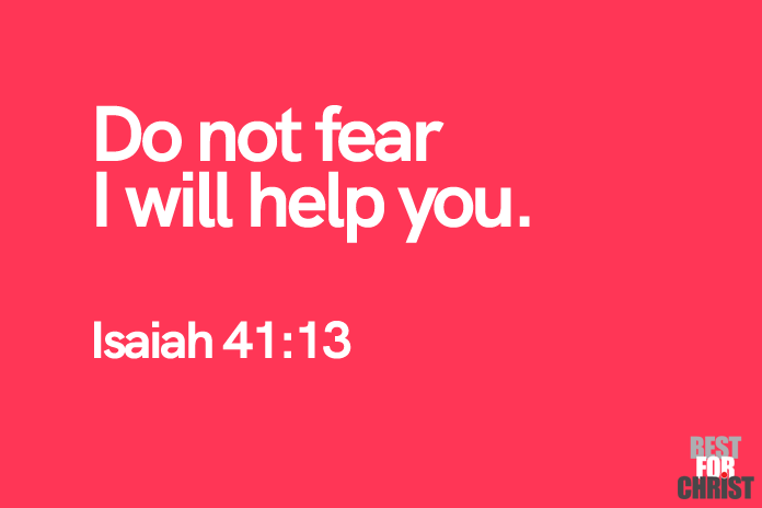 do not fear Bible Verses for the Day Isaiah 41:13